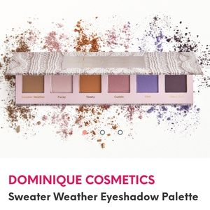 NIB Dominique Cosmetics Sweater Weather Eyeshadow
